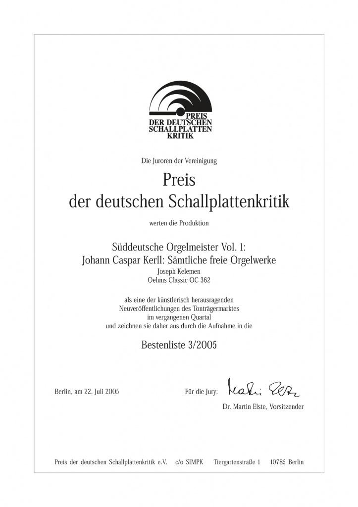 Urkunde-PdDSK-Kelemen-Kerll